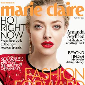 Amanda Seyfried, Marie Claire UK