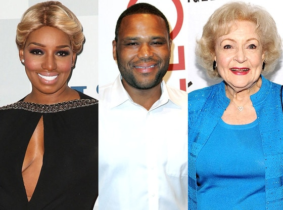 NeNe Leakes, Betty White, Anthony Anderson