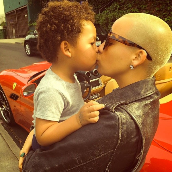 Amber Rose, Kiss, Instagram