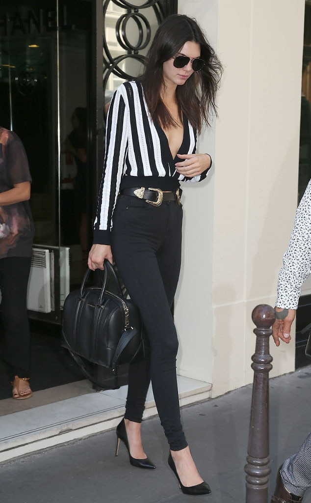 Hot Off The Runway From Kendall Jenner 39 S Street Style E News