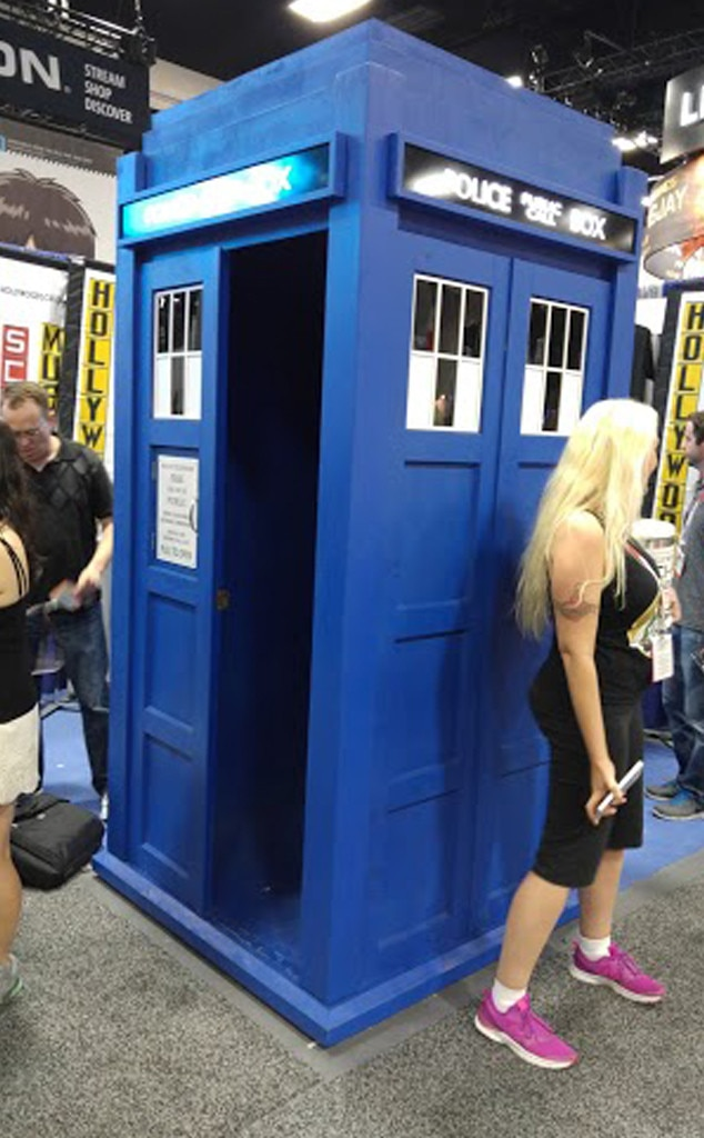 Jenna Mullins, Comic-Con Diary