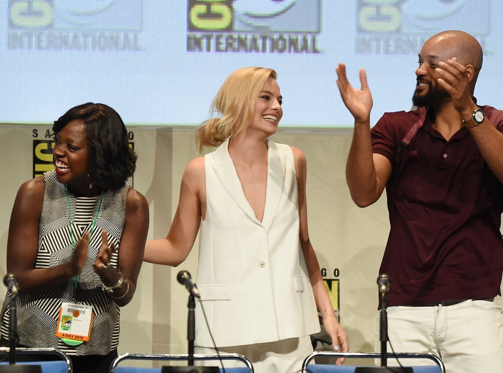 Comic-Con, Viola Davis, Margot Robbie, Will Smith