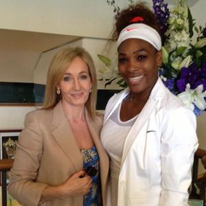 J.K. Rowling, Serena Williams, Twitter