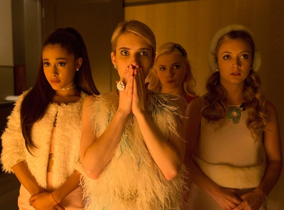 Scream Queens, Billie Lourd, Ariana Grande, Emma Roberts