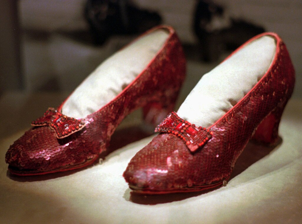 Ruby Slippers (from the Wizard of the Oz)
