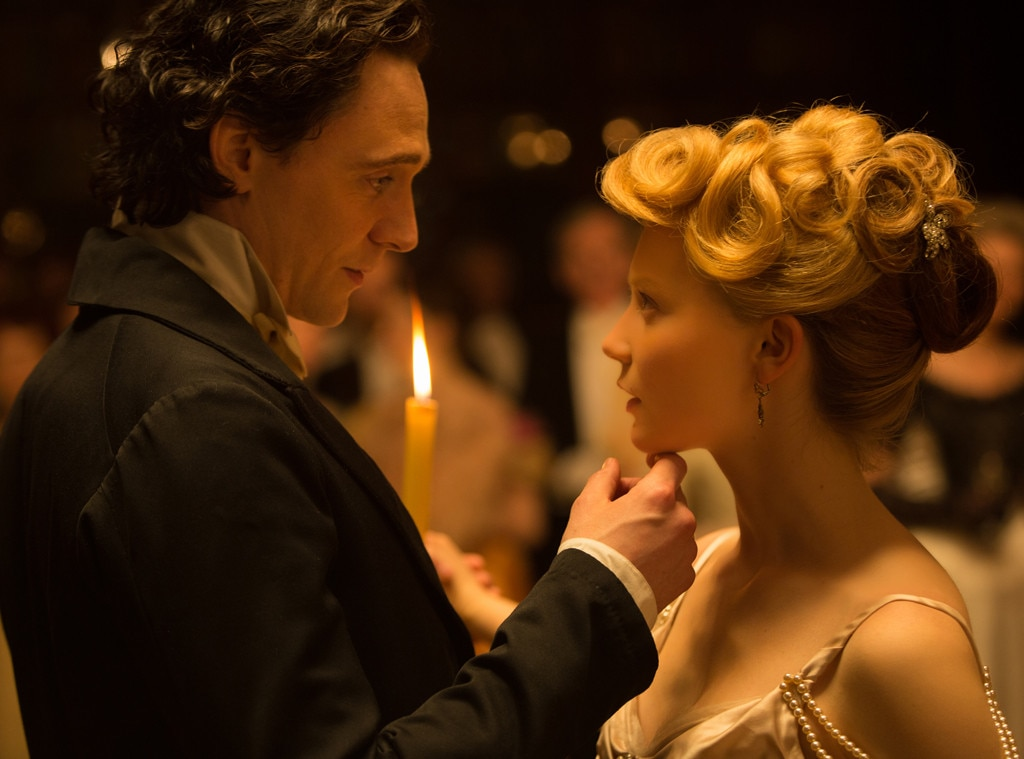 Tom Hiddleston, Mia Wasikowska, Crimson Peak