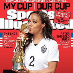 Sports Illustrated, U.S. Womens National Soccer Team, Sydney Leroux