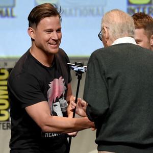Stan Lee, Channing Tatum, Comic-Con