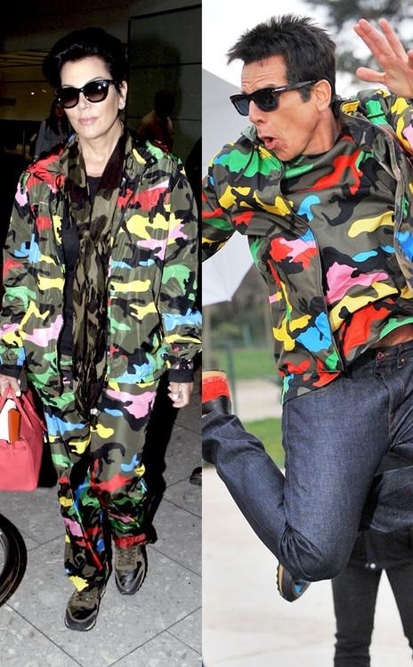 Kris Jenner, Ben Stiller, Zoolander
