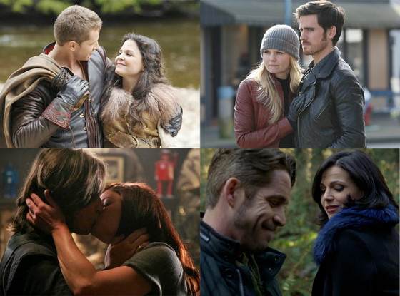Once Upon a Time, Couples