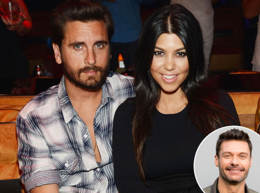 Scott Disick, Kourtney Kardashian, Ryan Seacrest