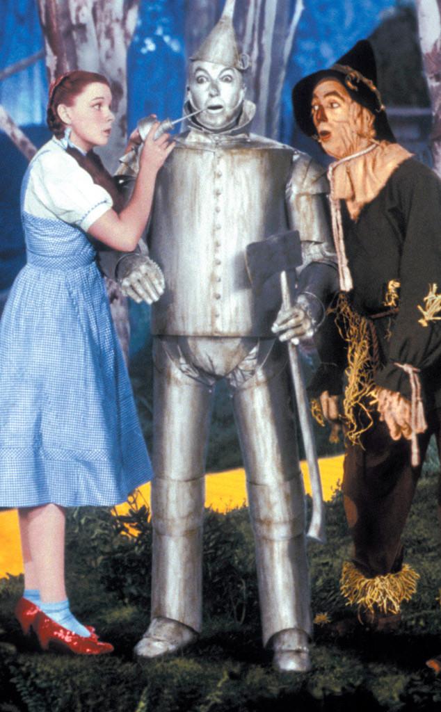 Judy Garland in Wizard of Oz