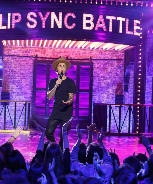 Justin Bieber, Lip Sync Battle
