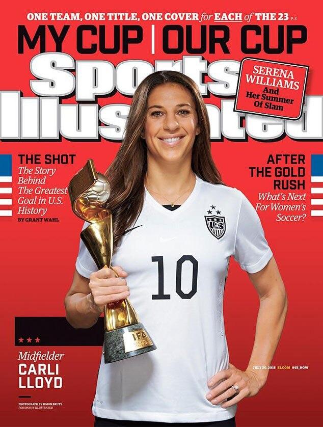 Sports Illustrated, U.S. Womens National Soccer Team, Carli Lloyd