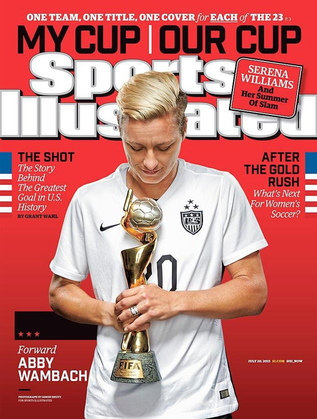 Sports Illustrated, U.S. Womens National Soccer Team, Abby Wambach