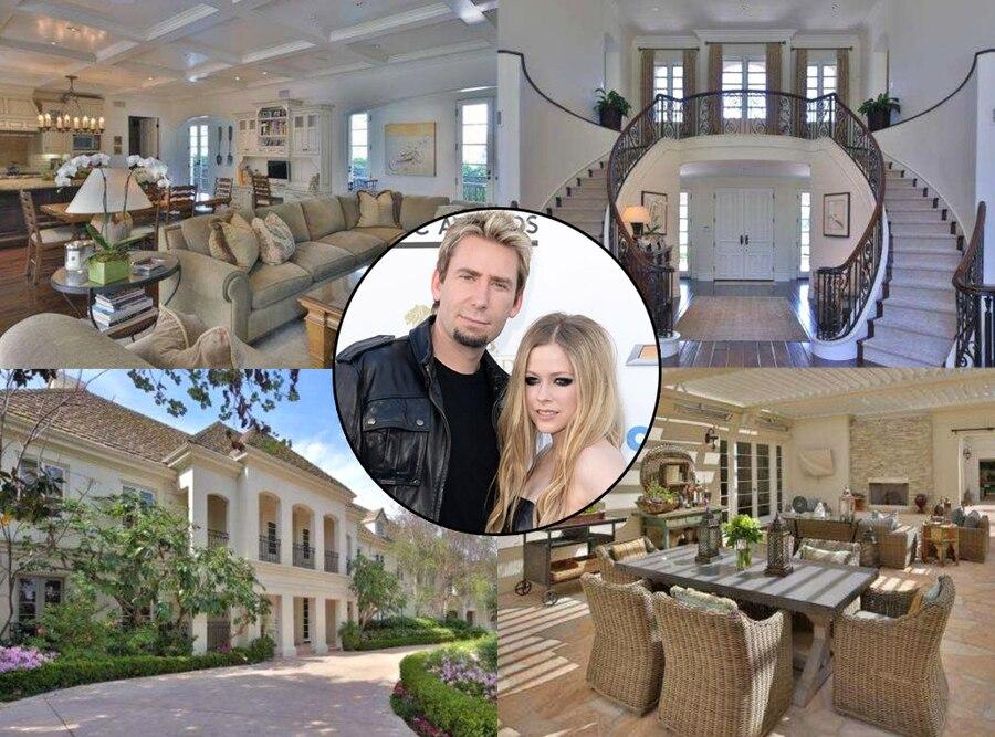 avril lavigne chad kroeger buy 5 4 million sherman oaks. Black Bedroom Furniture Sets. Home Design Ideas