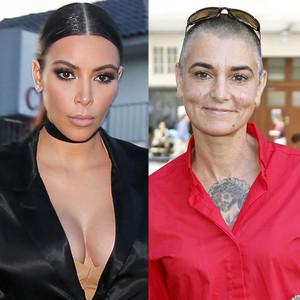 Kim Kardashian, Sinead O'Connor