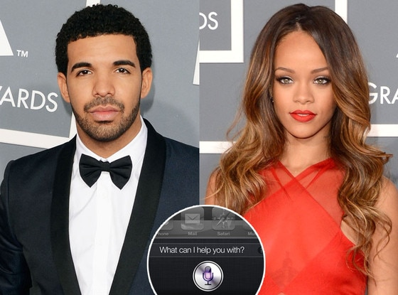 Rihanna, Drake, iPhone Siri
