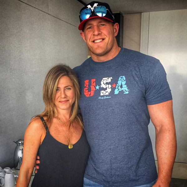 Jennifer Aniston, JJ Watt