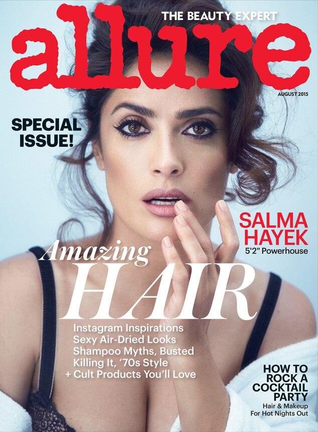 Salma Hayek, Allure Magazine