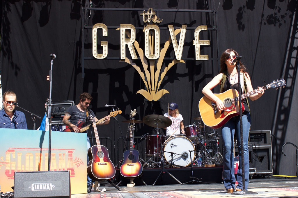 Gloriana, The Grove, Summer Concert Series
