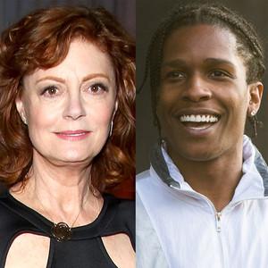 A$AP Rocky, Action Bronson, Susan Sarandon