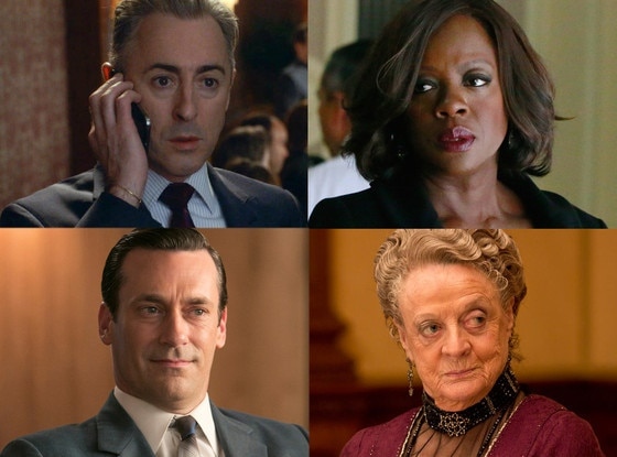Jon Hamm, Maggie Smith, Viola Davis, Alan Cumming