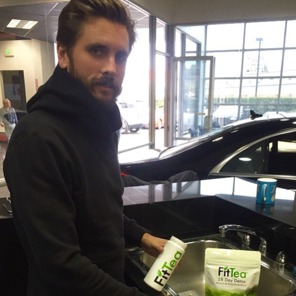 Scott Disick Shows His Face On Instagram Again After