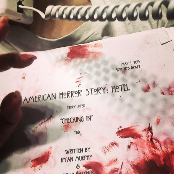 Why Is Lady Gaga 39 S American Horror Story Hotel Script A