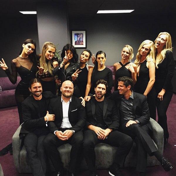 Kardashian & Jenner Family, Instagram