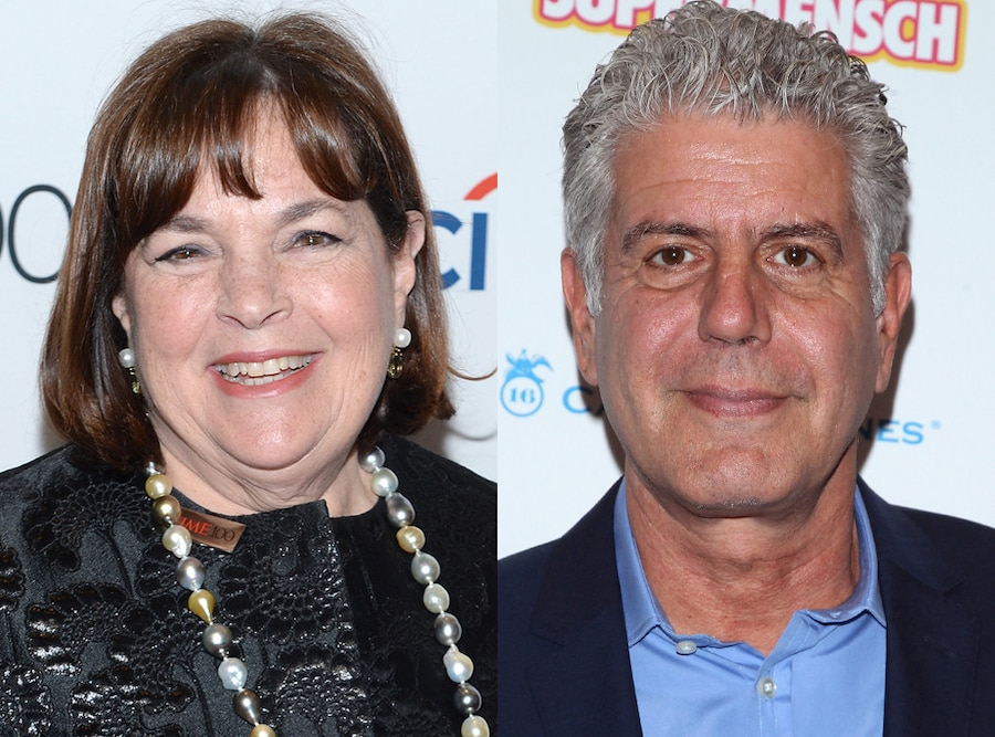 Ina Garten, Anthony Bourdain