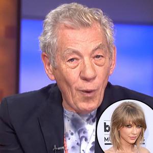 Ian McKellen, Taylor Swift