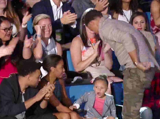 Riley Curry, Nickelodeon Kids' Choice Sports Awards