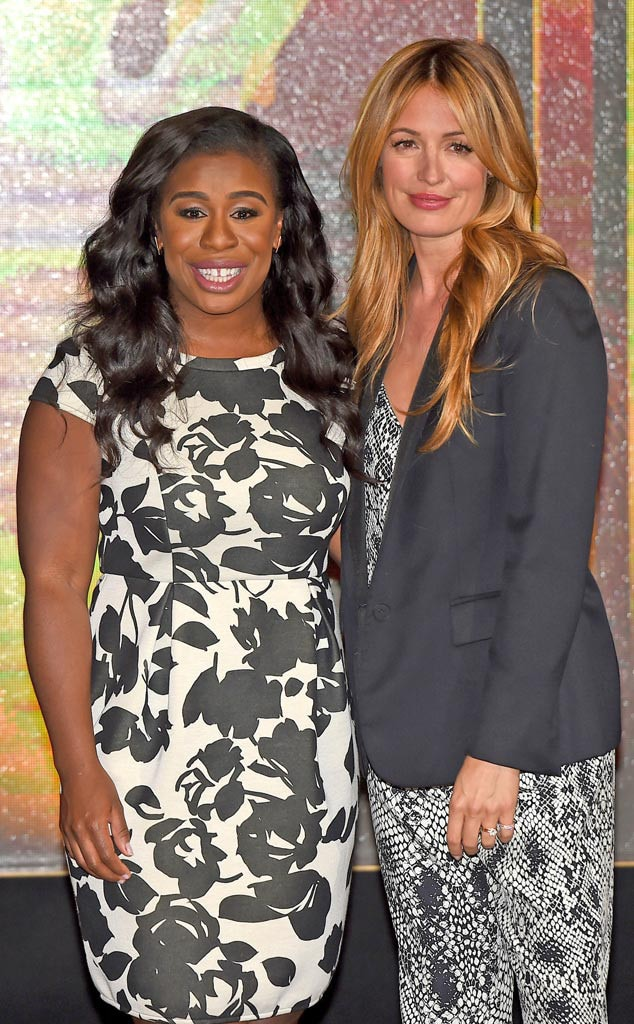 Uzo Aduba, Cat Deeley