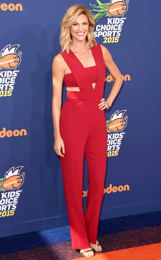 Erin Andrews, Nickelodeon Kids' Choice Sports Awards