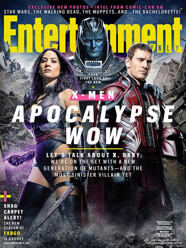 EW Magazine, X-Men: Apocalypse