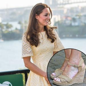 Kate Middleton, Wedges