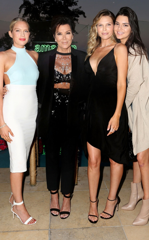 Erin Foster, Kris Jenner, Sara Foster, Kendall Jenner