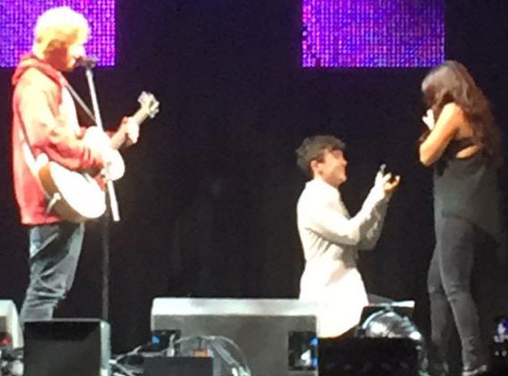 Ed Sheeran Helps Rixton's Jake Roche Propose to Little Mix ...