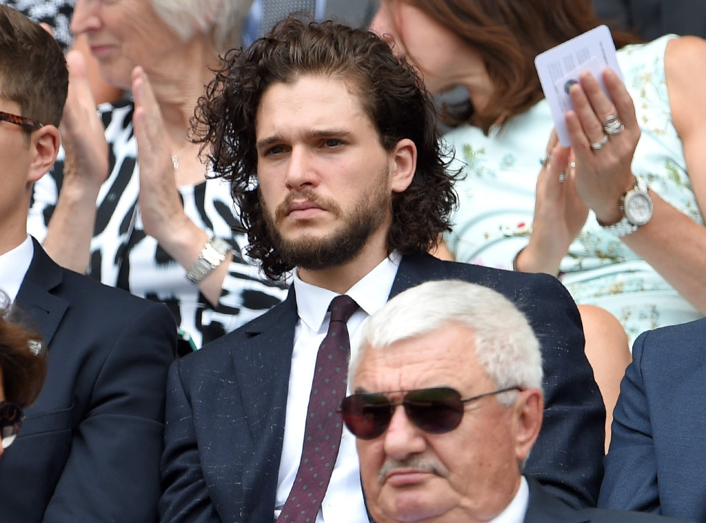 Kit Harington, Celebs at Wimbledon