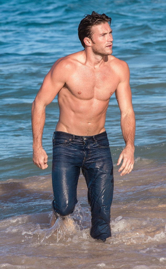 Beyond The Sea From Scott Eastwood S Shirtless Pics E News