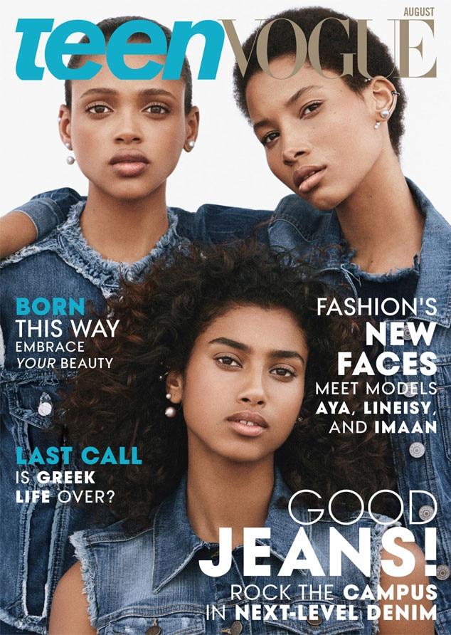 Teen Vogue, August
