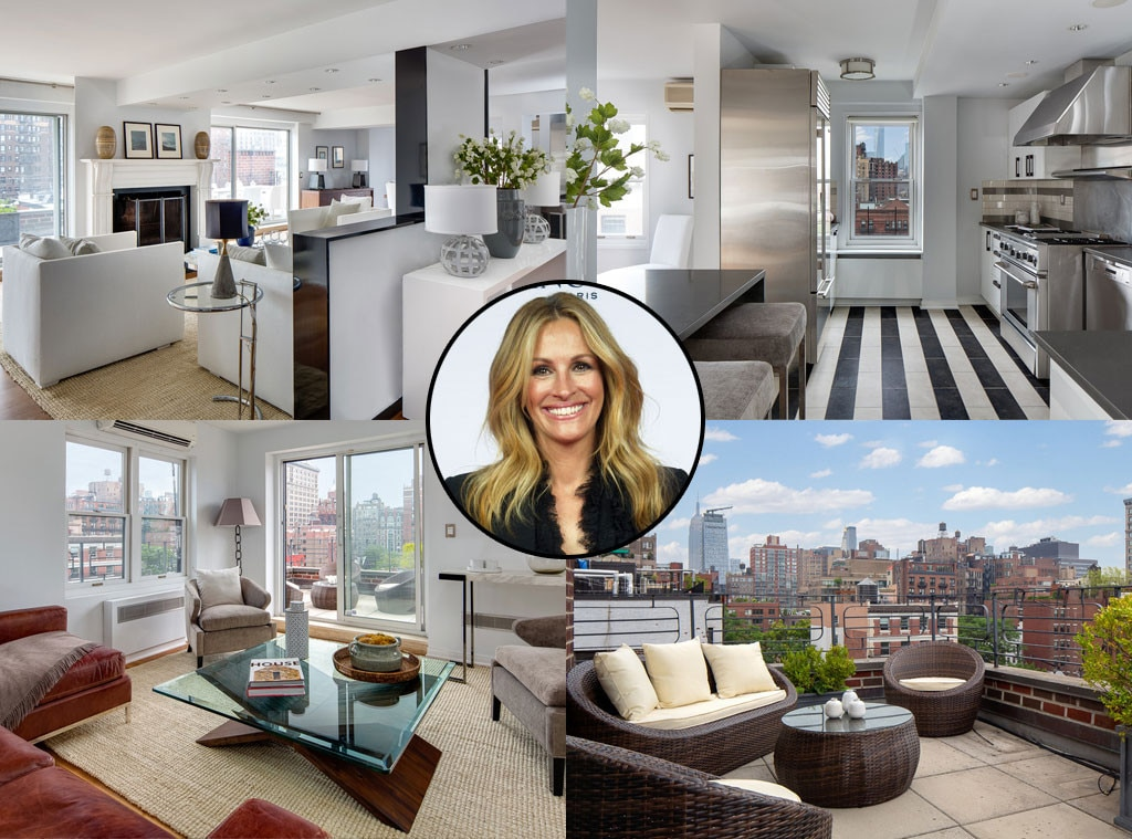 julia roberts vend son appartement de new york pour 4 5. Black Bedroom Furniture Sets. Home Design Ideas