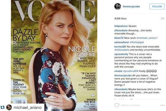 Nicole Kidman, Vogue Magazine, Marc Jacobs