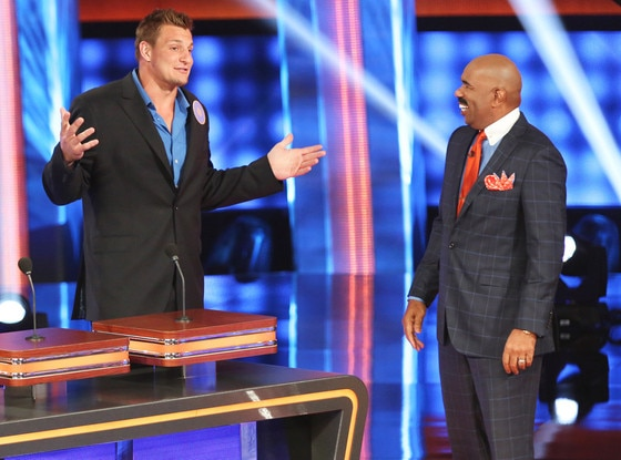 Rob Gronkowski, Celebrity Family Feud