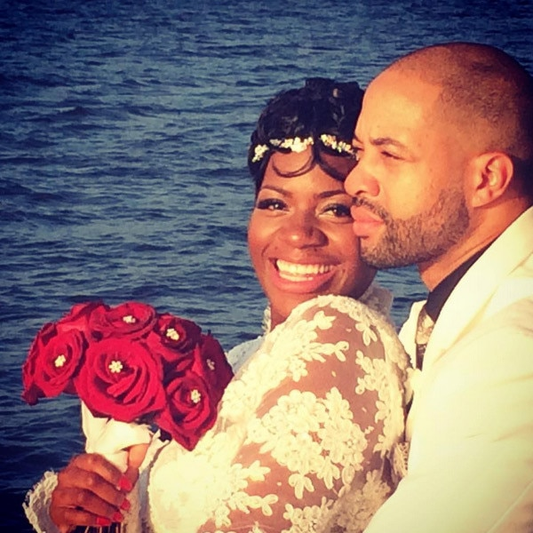 Fantasia Barrino, Wedding