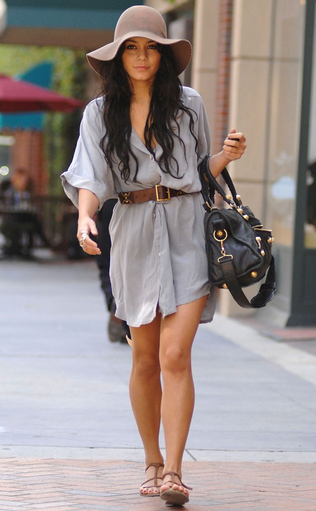 Less Is More From Vanessa Hudgens 39 Street Style E News