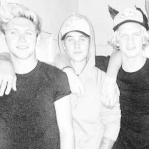 Cody Simpson, Niall Horan, Justin Bieber