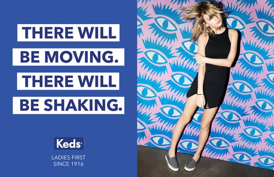 Taylor Swift, Keds Campaign
