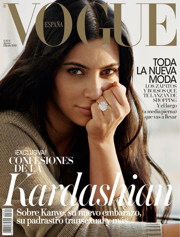 Kim Kardashian, Vogue Espana